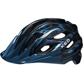KED Companion Kask rowerowy niebieski/czarny